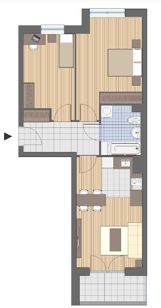 malowanie mieszkania 50 m2